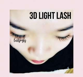 3D Light Lash Extensions