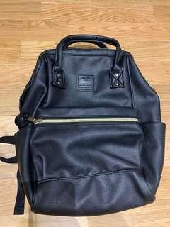 🚚 Anello leather backpack, small