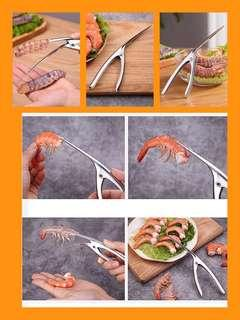 🚚 Shrimp Peeling Device (Stainless Steel)