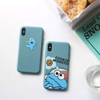 [PO] cookie monster iphone case