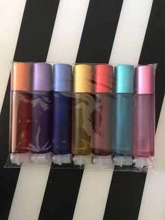 Chakra essential oil roller bottles set 10ml
