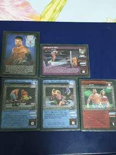 WWE RawDeal Jamie Noble Cards