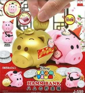 Disney Tsum Tsum 金豬扭蛋