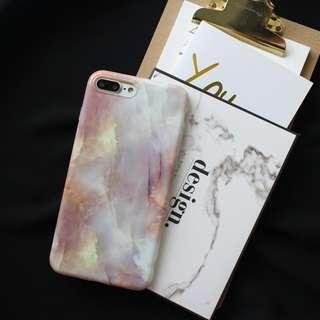 [PO] pink marble iphone case