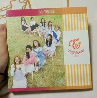 🚚 Twicecoaster Lane 1 Unsealed Apricot Album
