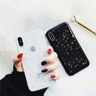 [PO] stars & glitter iphone case