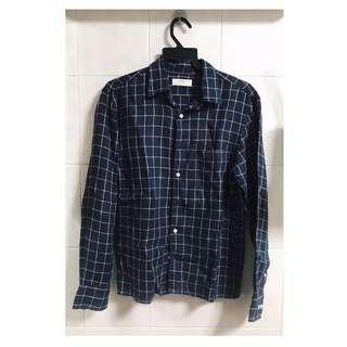 Uniqlo Checkered Linen Shirt