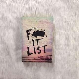The F- It List (hardbound)