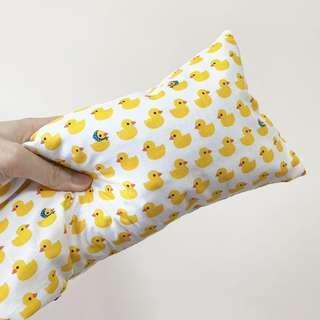 🚚 🌈 Bean Sprout Husk Pillow / Beanie Pillow ( 100% Handmade ) Jersey Cotton , Premium Quality!) size 15 x 40cm Light weight cotton , Rubber Ducky