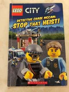 🚚 LEGO city book- stop that heist