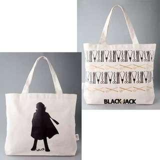 日本可愛卡通動漫帆布手提袋 補習袋 單肩包 AB面帆布袋