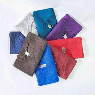 Suplayer Kaos Polos Cotton Twotone