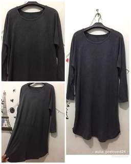 Tunik abu2 strerch import