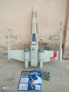 Star Wars X-Wing StarFighter Jet with Electronics