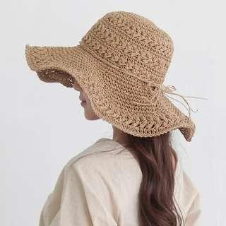 Bowknot Summer Hat