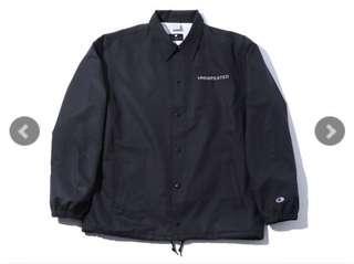 Undefeated champion coach jacket
