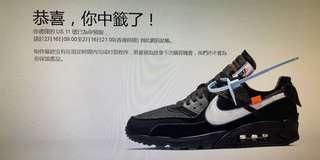 放 The 10 : Nike Air Max 90 中籤貨 us11