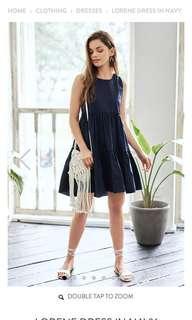 🚚 TCL Lorene Dress (Navy)