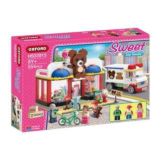 OXFORD - HS33915 - Sweet - 玩具店 (Sweet - Toy House)