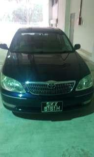 Camry for rent