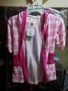Bath robe for Baby Girl