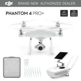 Display NEW DJI Phantom 4 PRO+ PLUS Drone 4k w/ Gimbal Camera 1080p 20MP + 5.5