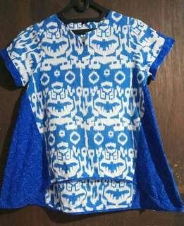 🌻~batik blouse