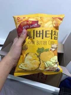 Honey Butter Chips Korean