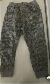 Army kids pants