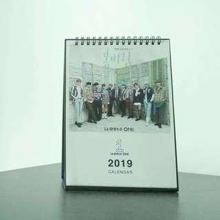 Ready stock 2019 wanna one calendar wannaone power of destiny album #MHB75