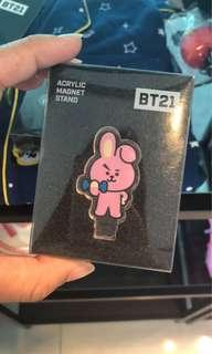 BT21 COOKY Acrylic Magnet Stand