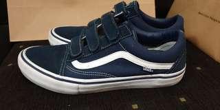 Vans Old Skool Pro Velcro Navy 48b8c2239