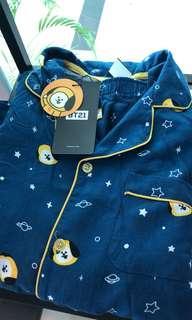 BT21 Line Store Official Pajamas Set
