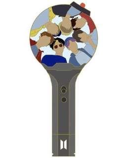 [ 🇲🇾 GO ]BTS BANGTAN BOMB ENAMEL PIN ( Preorder)