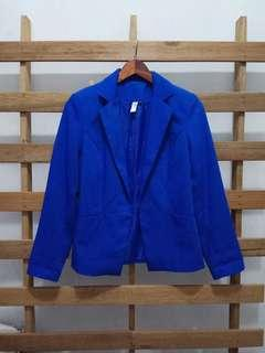 Korean blue blazer