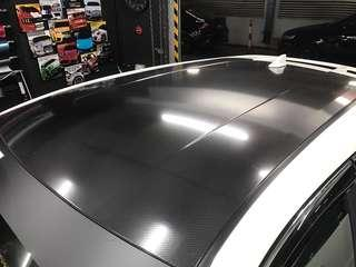 Car roof wrap 6D Carbon fiber sticker