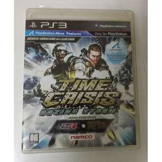 🚚 火線危機 烈火風暴 三合一 PS3 Time Crisis Razing Storm