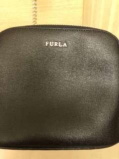 Furla black cross body bag 黑色 斜背袋