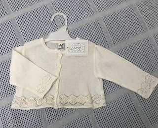 Knit Cardigan Cotton Baby Girl [import- made in Italy]