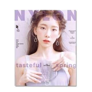 (OFFICIAL MAGAZINE) NYLONS MAGAZINE - Taeyeon