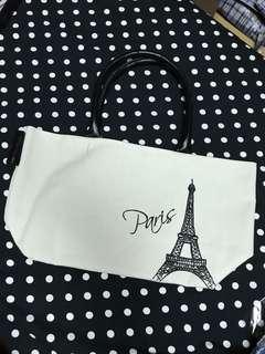 🚚 Paris歐風帆布提袋
