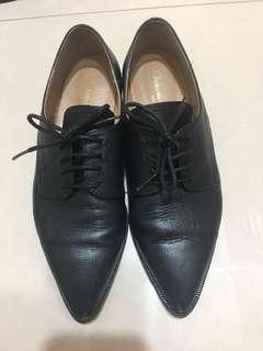 🚚 Doe studio韓國手工牛津鞋23.5cm