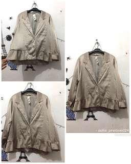 [NEW]blazer gold cantik