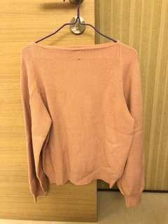 Moussy pink top
