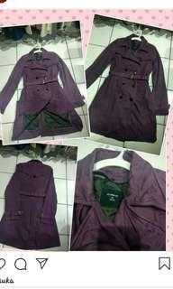 Coat Purple