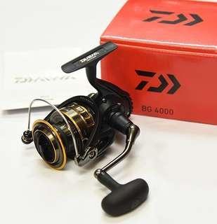 New Daiwa BG 4000 Spinning Reel Fishing Brought From Amazon