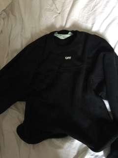 Off White Sweater *50% price drop*