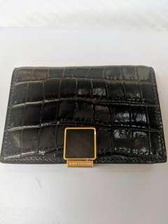 🚚 CARD HOLDER. Smythson Leather Mara Business and Credit Card Case