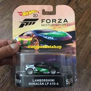 🚚 (SOLD) Hot Wheels LAMBORGHINI HURACAN LP 610-4