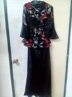 Black Rose Top & Mermaid Skirt #MMAR18